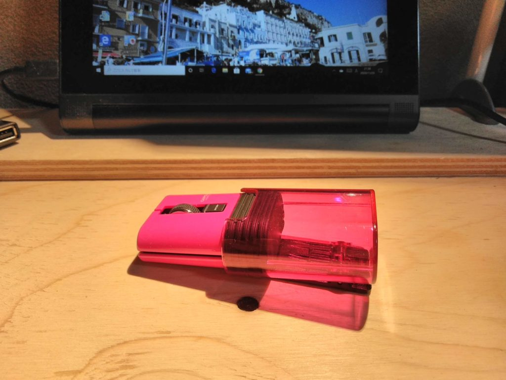 BluetoothマウスとWindows10のタブレット